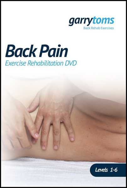 Back Pain – Exercise Rehabilitation DVD
