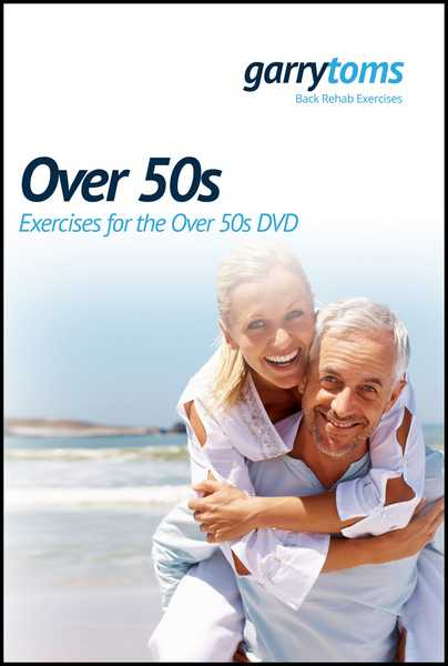 Over 50s - Exercises for the Over 50s DVD